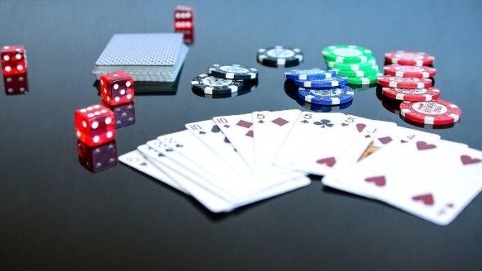poker et jetons